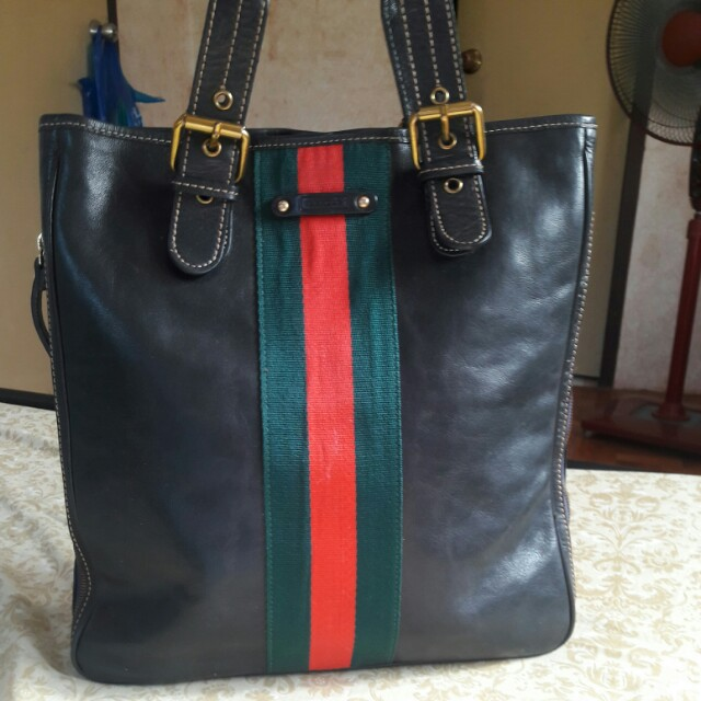 IL SACCO MILANO Made in Italy Genuine Leather Tote Bag