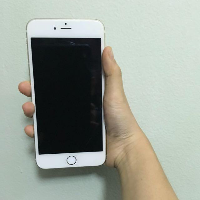 Iphone 6 id lock gold 64gb