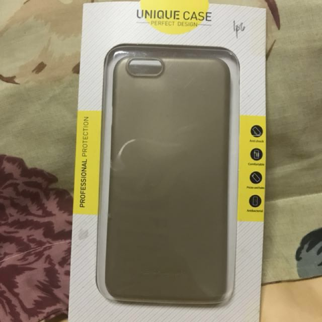 iPhone 6 Slim Gold Case