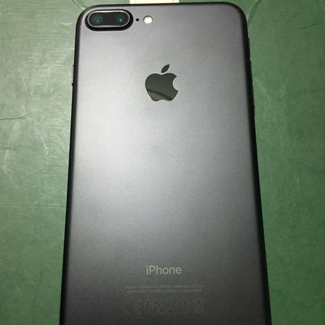 Iphone 7 plus 32gb black id lock