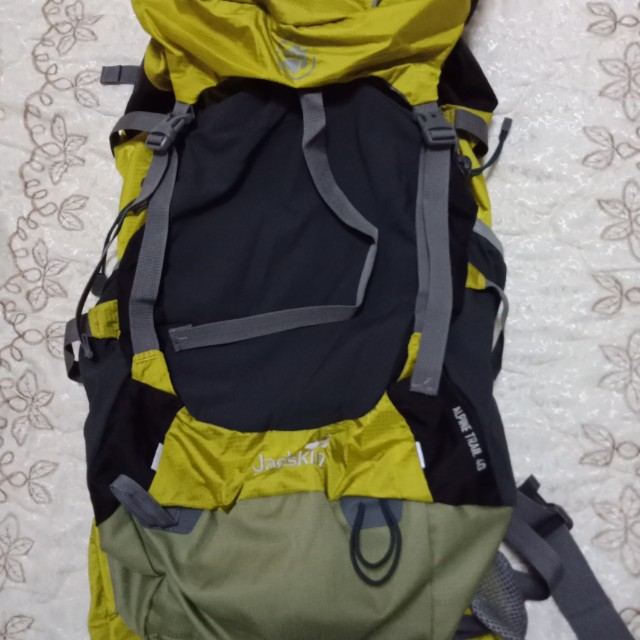 jackwolfskin alpine trail 40