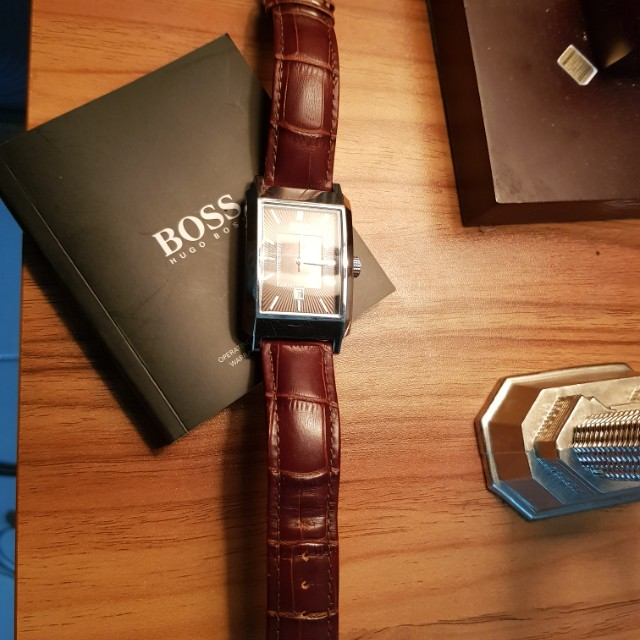 Jam tangan casual Hugo Boss very good condition original