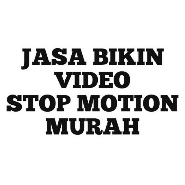 Jasa Bikin Video Stopmotion
