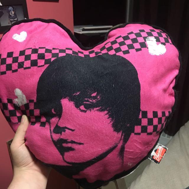 Justin Biedermeier Throw Pillow