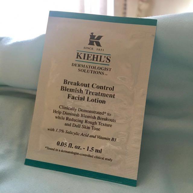 Kiehl's Breakout Control Blemish Treatment Facial Lotion (Sample)