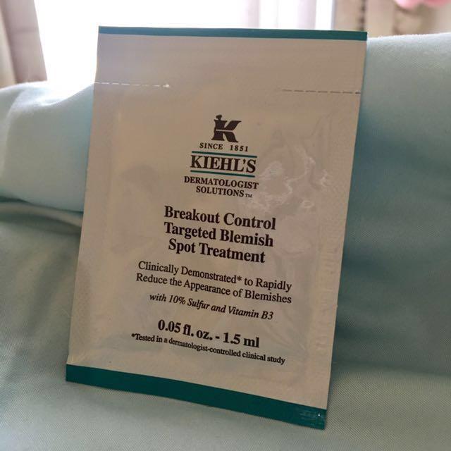 Kiehl's Breakout Control Targeted Blemish Spot Treatment (Sample)