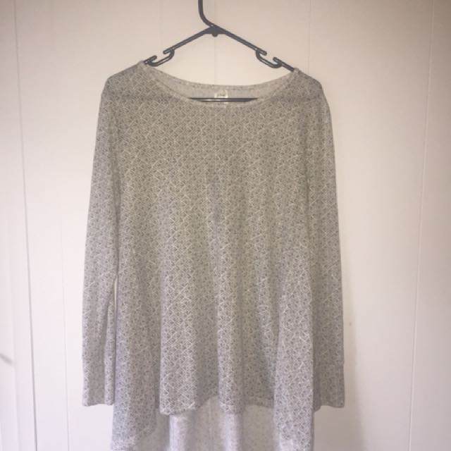 Kmart Long Sleeved Shirt
