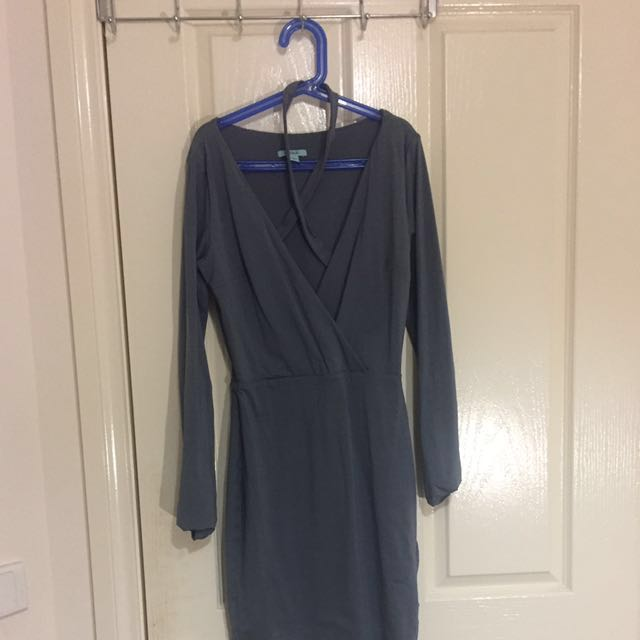 Kookai Abigail Dress In Rhodium Size 1