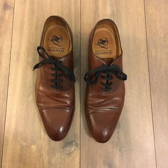 Leather dress shoe Italian (leather sole) handmaid
