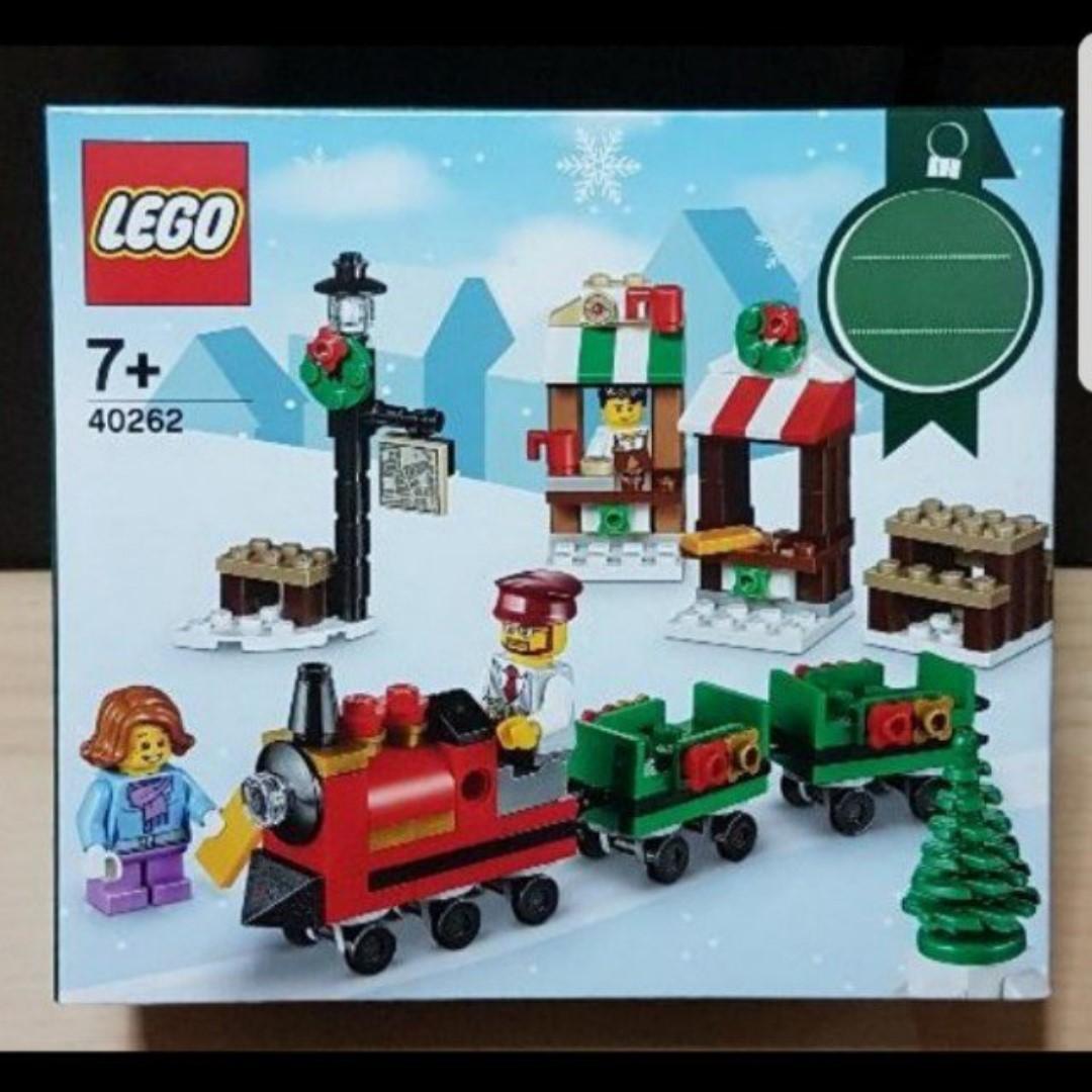 Lego Christmas Train.Lego 40262 Christmas Train Ride X Mas
