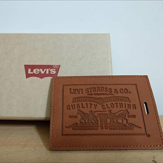 Levi's真皮卡套