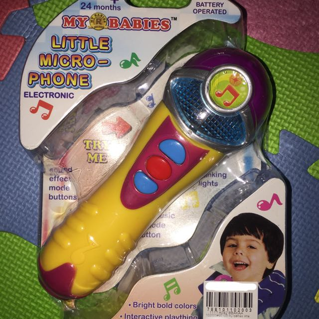 Little microphone battery operated