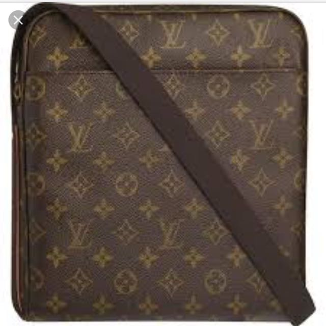 Louis Vuitton Messenger Bag Monogram canvas trotteur beauborg