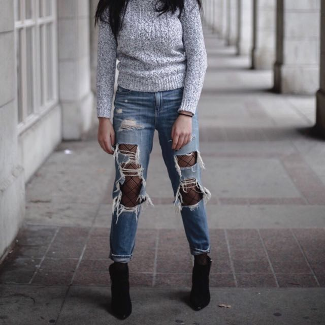 Lucky Brand - Ripped Jeans
