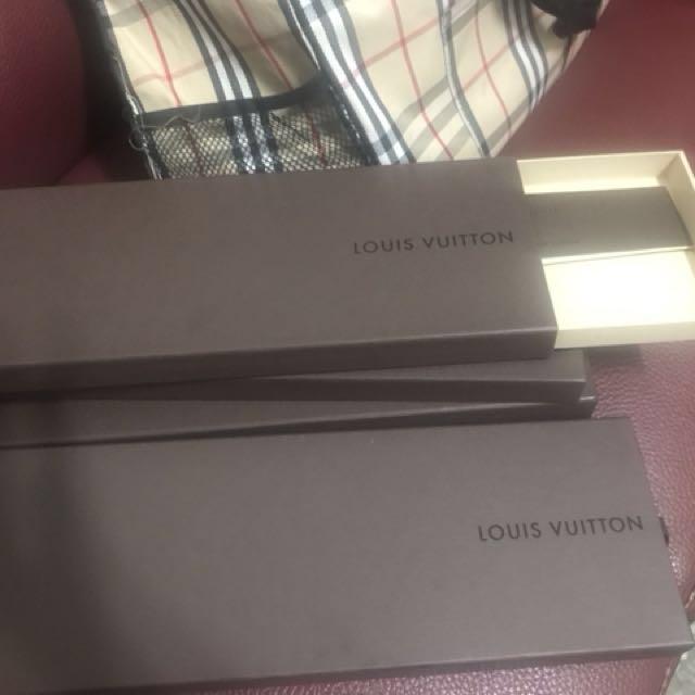 空盒,LV領帶盒4個(每個200)HERMES領帶盒2個(每個200)