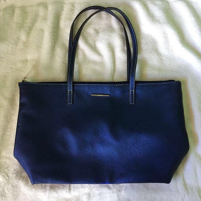 Mango Faux Leather Bag