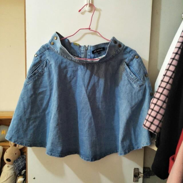 Maru.a專櫃牛仔裙