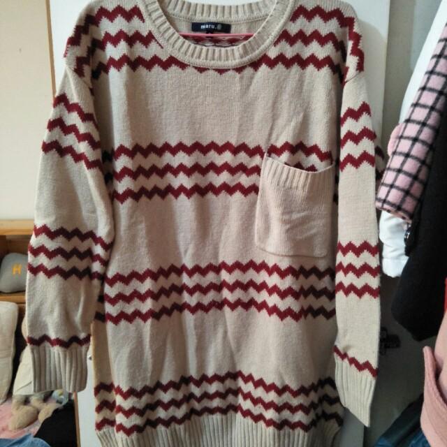 Maru.a專櫃針織衫