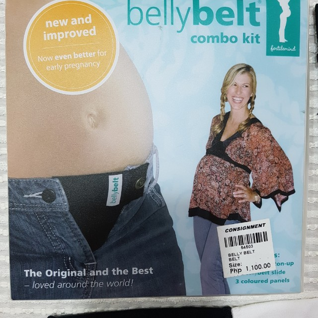 Maternity Belly Belt branded FERTILEMIND