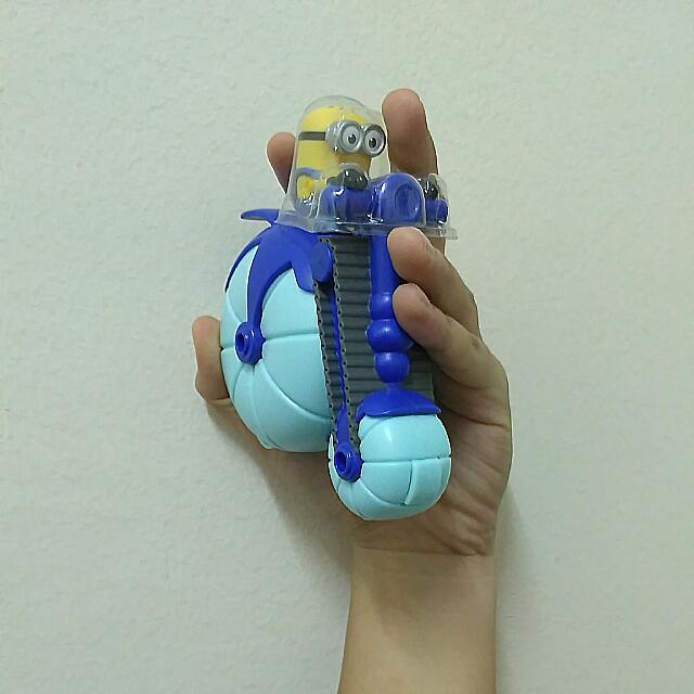 [reduced] Mcd Toy Hydrocyclo Minion