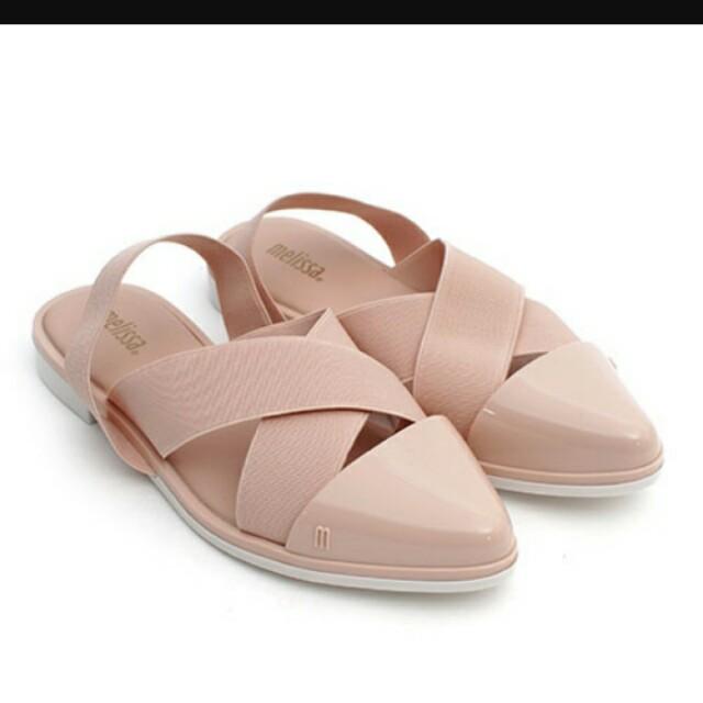 Melissa粉紅膠鞋