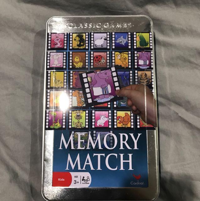 Memory match game