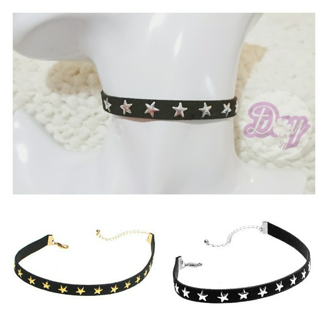 """[MerryCharms.com/Day 21] DY2103 """"Party Star"""" Choker/Collar"""