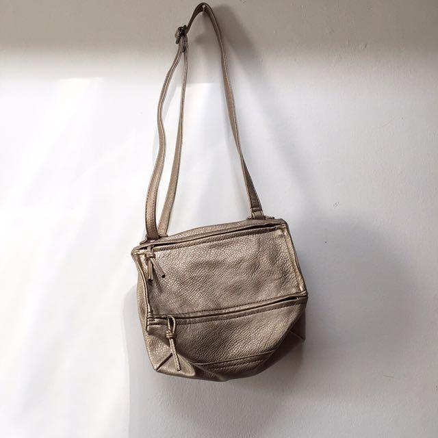 Metallic Sling Bag