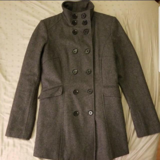 mexx gray fall jacket size 36