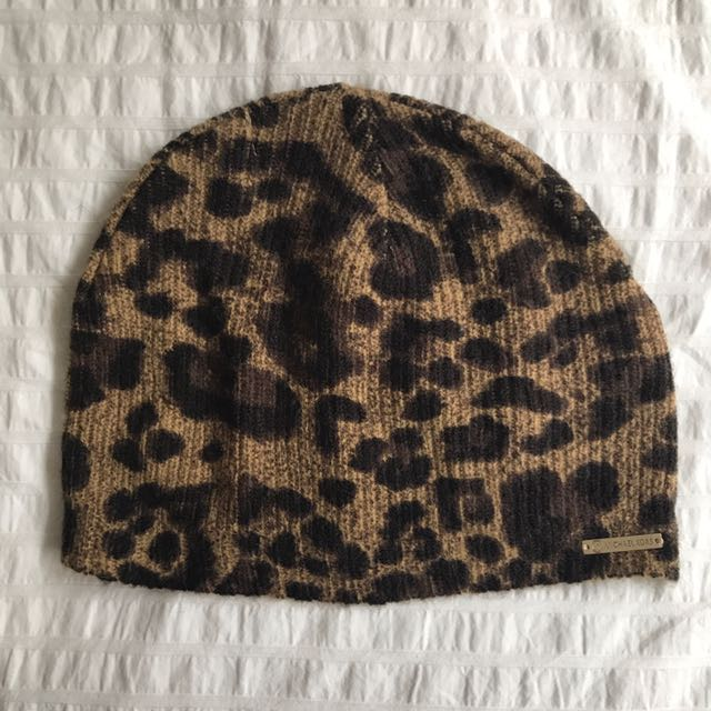 Michael Kors - Authentic Leaopard Hat - New without tags