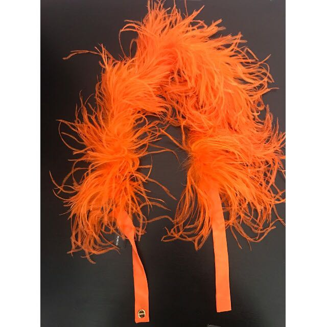 Mimco Feather Boa Never Worn