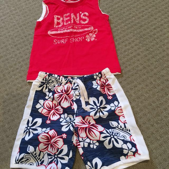 New Sprout Summer Outfit