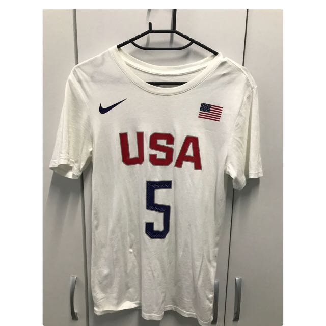 Nike Kevin Durant USA #5 T-shirt (S)