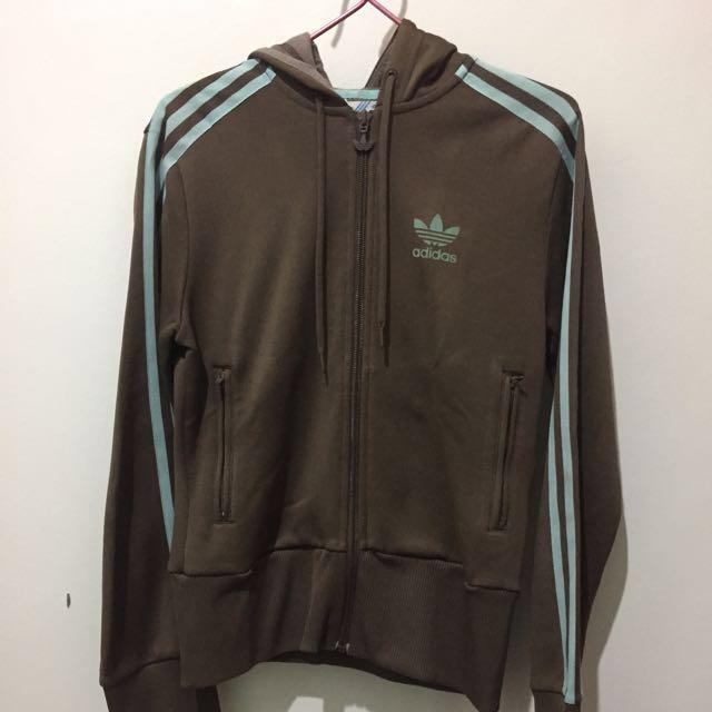 Original Adidas Jacket with Hoodie