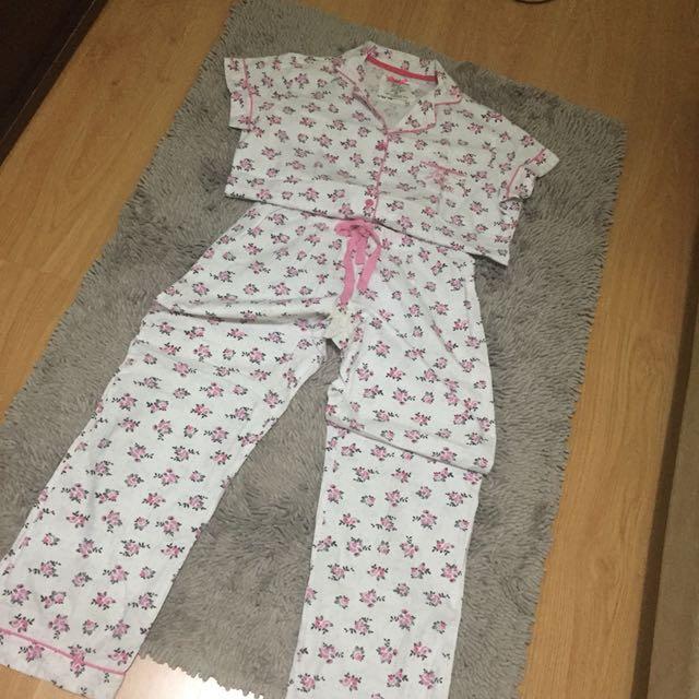 Pajama Set Small Medium