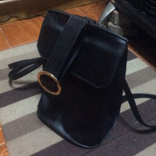 Parisian Leather Small Bag