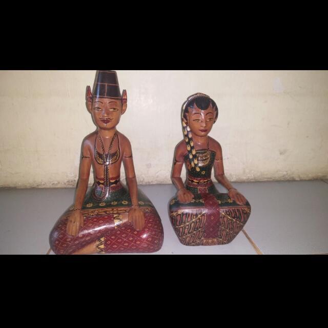 Patung Sepasang Jawa