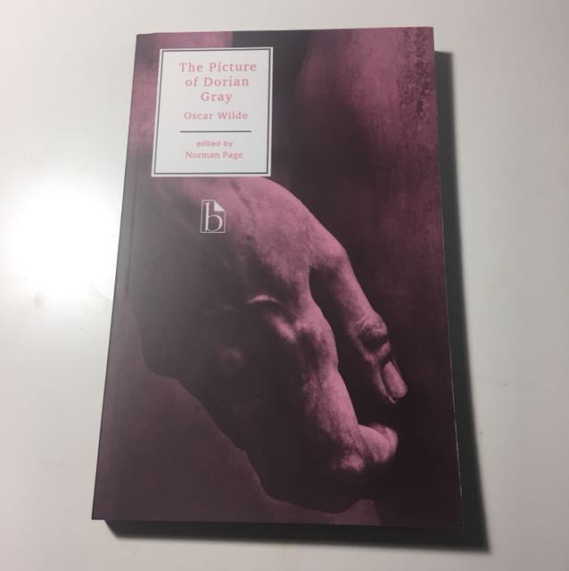 Picture of Dorian grey ENG text