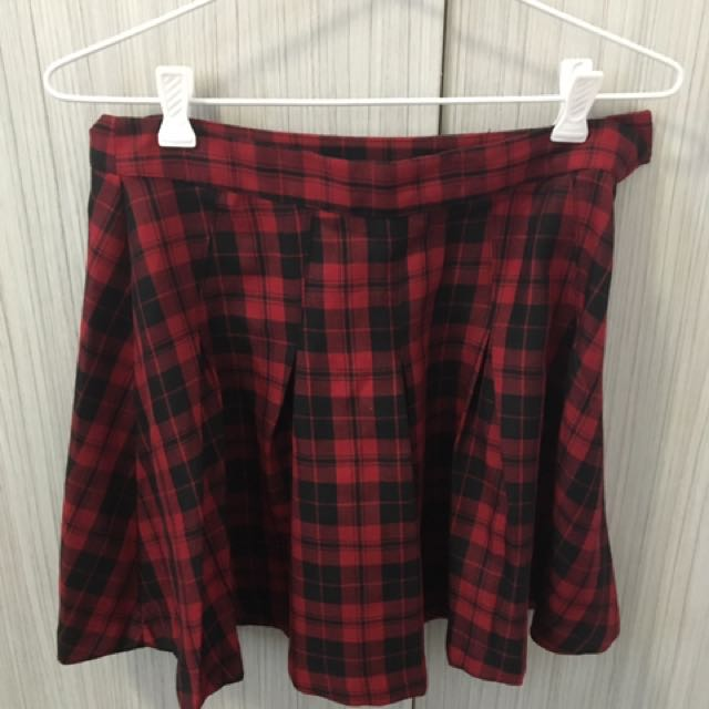 Plaid Skirt Size 10