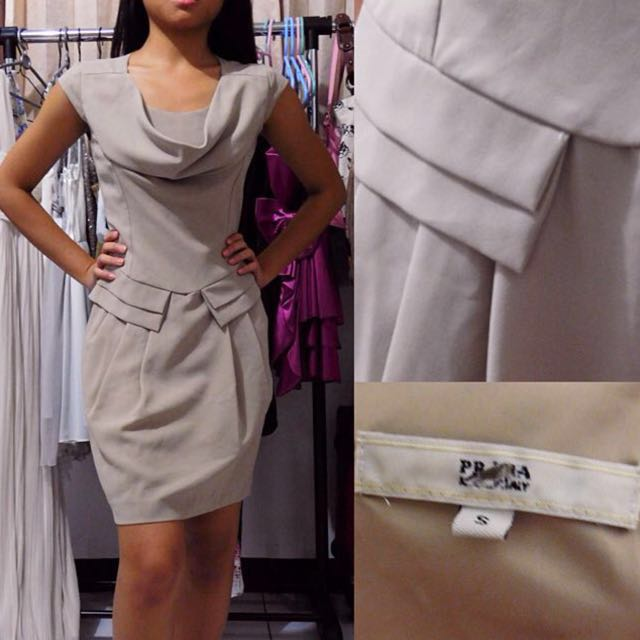 PRADA Original Beige Dress