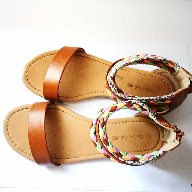 fe22df12782 PRE💙D Authentic American Eagle by Payless Kid s Gladiator Sandals ...
