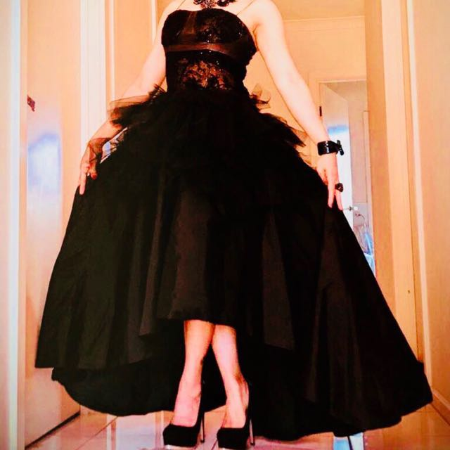 Preety party dress