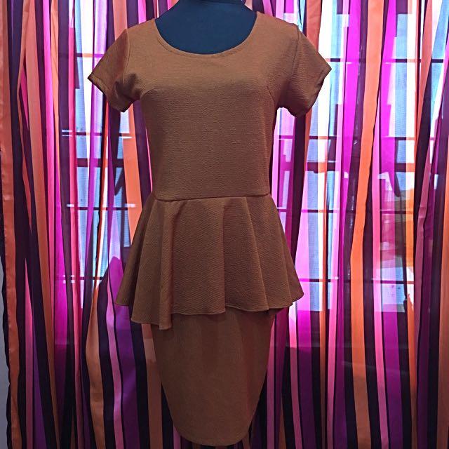 Pre-loved R. Papa Peplum Dress