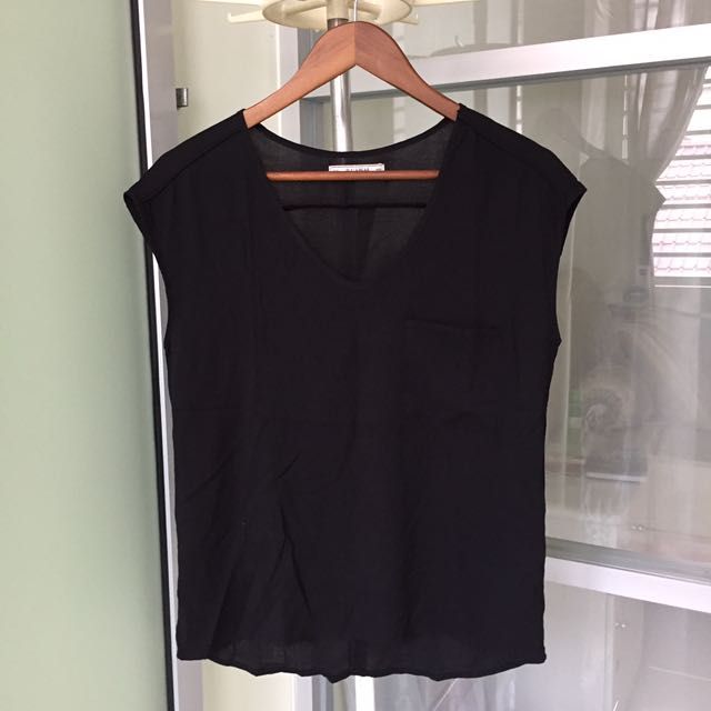 Pull & bear black top