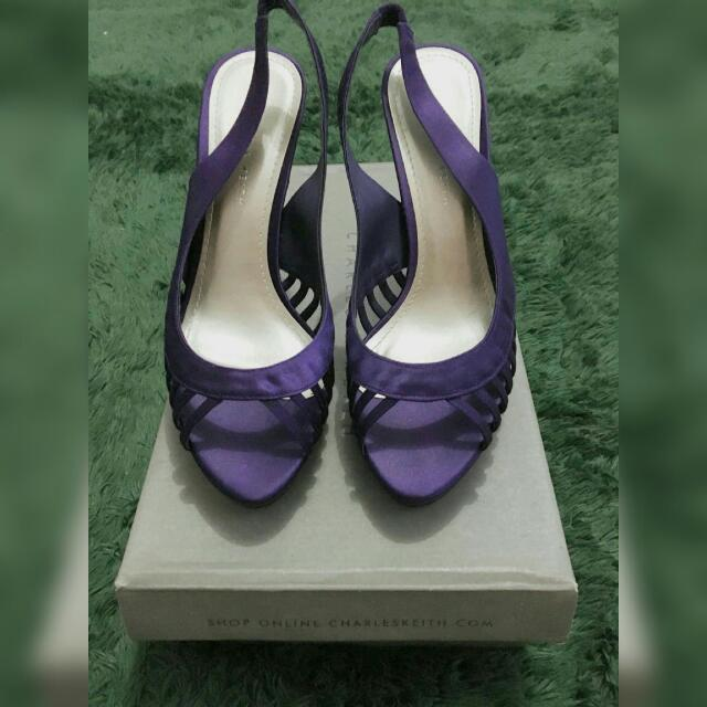 Purple Shoes Charles N Keith