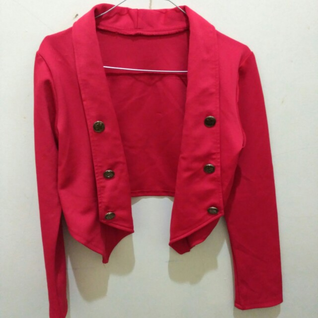 Red bolero