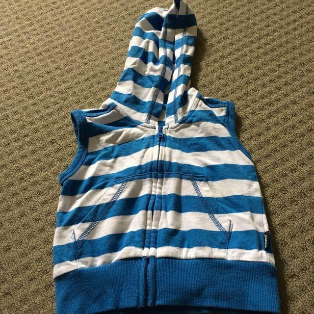 Reduced Bonds hooded vest