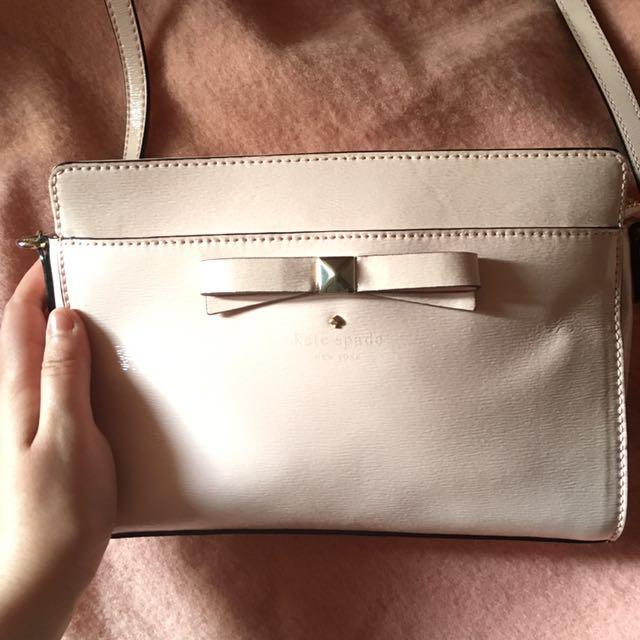 *Reduced* Kate Spade Shoulder Bag- Pale Pink