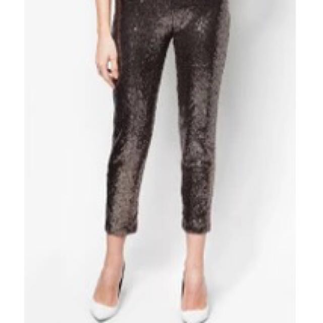 REPRICED Stretch Sequin pants
