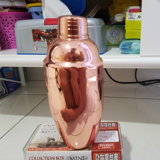 rose gold shaker 550ml